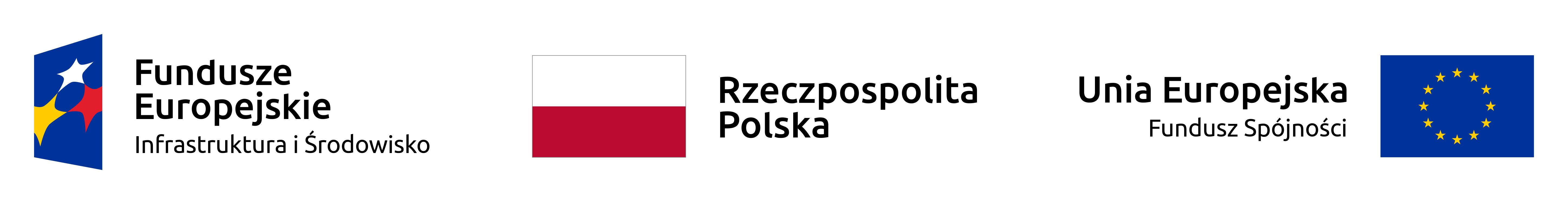 logo Fundusze UE przejdź do strony współfinansowane ze środków UE; od lewej logo funduszy europejskich,dalej mapa polski z napisem Rzeczpospolita Polska, po prawej Mapa Unii Europejskiej z napisem Unia Europejska - Fundusz spójności