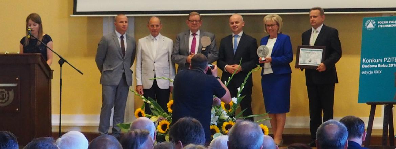 GINB Norbert Książek podczas wręczenia nagród laureatom