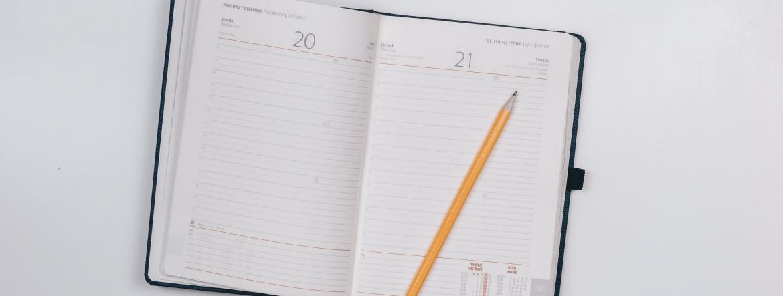 dziennik, kalendarz, terminarz